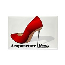 ACUPUNCTURE HEALS Rectangle Magnet