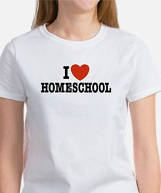 I Love Homeschool Women's T-Shirt