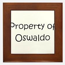 Cool Oswaldo Framed Tile