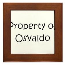 Unique Osvaldo Framed Tile