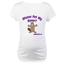 Wanna Pet My Beaver Shirt