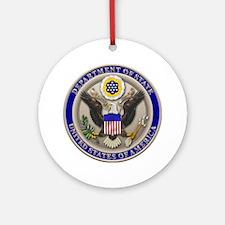 State Dept. Seal Keepsake (Round)