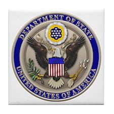 State Dept. Seal Tile Coaster
