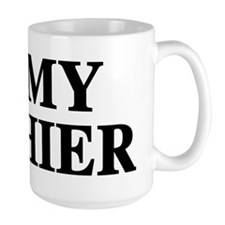 I Love My Cashier Mug