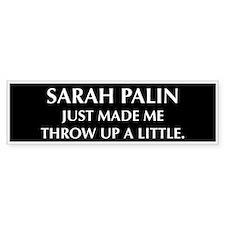 anti Palin Bumper Bumper Sticker