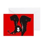 Halloween Angel Greeting Cards (Pk of 10)