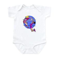 Girls Volleyball Infant Bodysuit