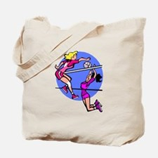 Girls Volleyball Tote Bag