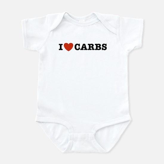 I Love Carbs Infant Creeper