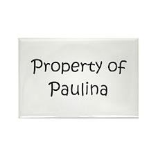 Unique Paulina Rectangle Magnet