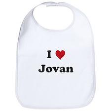 I love Jovan Bib