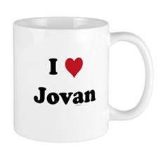 I love Jovan Mug