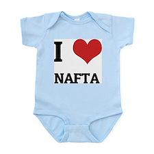 I Love NAFTA Infant Creeper