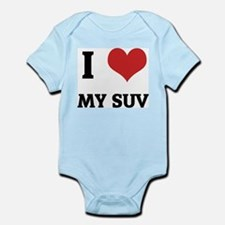 I Love My SUV Infant Creeper