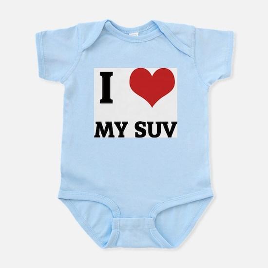 I Love My SUV Infant Creeper
