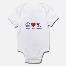 Peace, love, paddling Infant Bodysuit