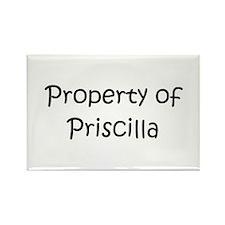 Funny Priscilla Rectangle Magnet