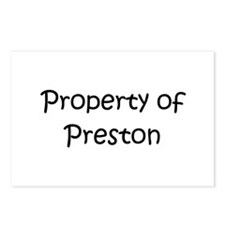 Funny Preston Postcards (Package of 8)