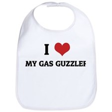 I Love My Gas Guzzler Bib
