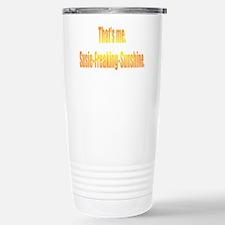 Susie-Freaking-Sunshine Stainless Steel Travel Mug