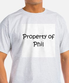 Cute Property of phil T-Shirt