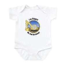 Construction 2nd Birthday Infant Bodysuit