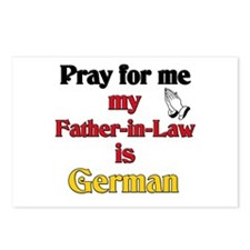 Pray for me my father-in-law is German Postcards (