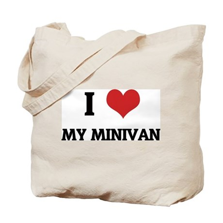 I Love My Minivan Tote Bag