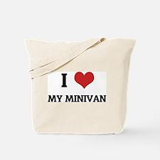 I Love My Minivan Tote Bag
