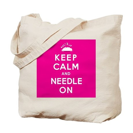 NEEDLE ON Tote Bag