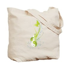 """""""CURE THE SPIRIT"""" QUOTE Tote Bag"""