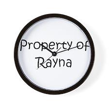 Funny Rayna Wall Clock