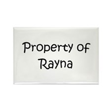 Cute Rayna Rectangle Magnet