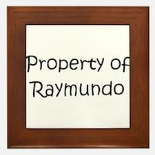 Cute Raymundo Framed Tile