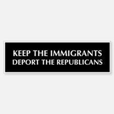 anti Republican Bumper Bumper Bumper Sticker