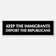anti Republican Bumper Bumper Bumper Sticker