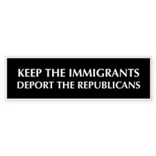 anti Republican Bumper Bumper Sticker