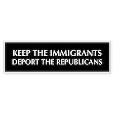 anti Republican Bumper Bumper Sticker