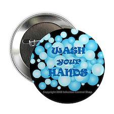 "Hand Hygiene 2.25"" Button (100 pack)"