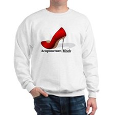 Acupuncture Heals Sweatshirt