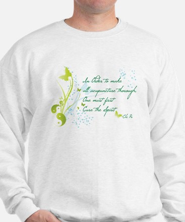 """Cure the Spirit"" Cozy Sweatshirt"