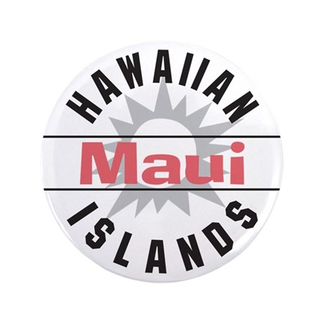 "Maui Hawaii 3.5"" Button (100 pack)"