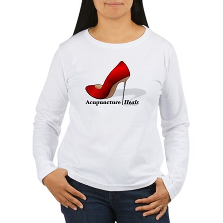 Acupuncture Heals Women's Long Sleeve T-Shirt