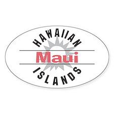 Maui Hawaii Oval Decal