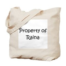 Funny Raina Tote Bag