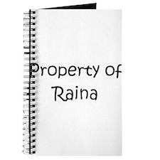 Cute Raina Journal