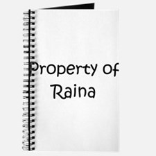 Funny Raina Journal