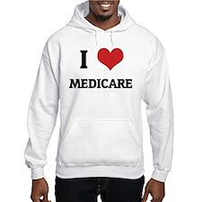 I Love Medicare Jumper Hoody
