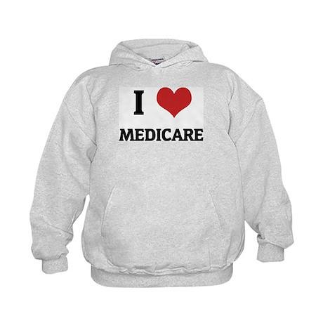 I Love Medicare Kids Hoodie