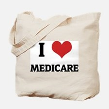 I Love Medicare Tote Bag